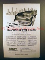 1956 Gray Audograph V Dictating Machine Ad!