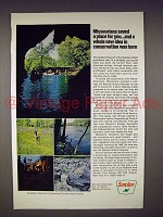 1968 Sinclair Oil Ad - Missouri Scenic Riverway