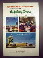 1963 Holiday Inn Motel Ad - Consistently Good Quality