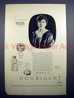 1923 Houbigant Perfume Ad w/ Queen Marie of Rommania