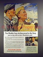 1944 WWII Studebaker Flying Fortress Ad - Do Proud