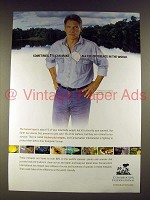 2004 Conservation International Ad w/ Harrison Ford