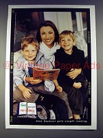 2004 Get Caught Reading Ad w/ Jane Seymour