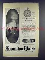1923 Hamilton No. 920 Byron, White Gold Filled Watch Ad