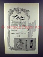 1923 Longines Watch Ad!