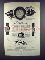 1926 Longines Watch Ad - Who Sells It?
