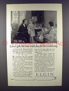 1926 Elgin Watch Ad - Loves Gifts Should be Everlasting