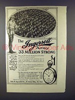 1913 Ingersoll Watch Ad - Army 33 Million Strong