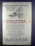 1923 Hoover Vacuum Cleaner Ad - 180 Years of Proof