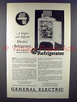 1927 General Electric Refrigerator Ad - Simpler