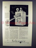 1927 Kelvinator Freezing Unit Ad - Cold That Keeps