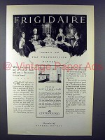 1927 Frigidaire Refrigerator Ad - Thanksgiving Dinner