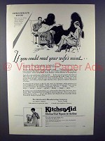 1928 KitchenAid Mixer Ad - Read Your Wife's Mind