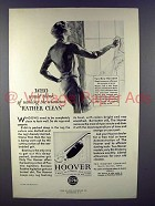 1930 Hoover Vacuum Cleaner Ad - Rather Clean