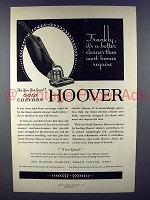 1932 Hoover Gold Chevron Vacuum Cleaner Ad!