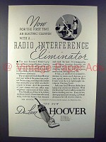 1934 Hoover Sentinel Model 925 Vacuum Cleaner Ad
