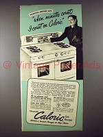 1952 Ultramatic Caloric Gas Range Ad - Minutes Count!