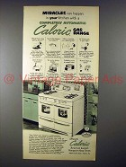1952 Ultramatic Caloric Gas Range Ad - Miracles