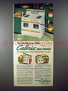 1953 Ultramatic Caloric Gas Range Ad - Color Handles
