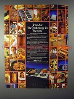 1984 Jenn-Air Grill-Range Ad - For the 80's!