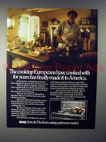 1985 Jenn-Air Grill-Range Ad - Made it to America