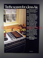 1985 Jenn-Air Grill-Range Ad - Tis the Season!