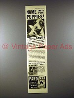 1939 Pard Dog Food Ad - Twin Wire-Haired Terrier Puppies