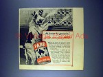 1944 Pard Dog Food Ad - Knows His Groceries!