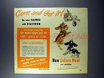 1948 Gaines Dog Food Ad - Come and Get It!
