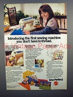 1977 Mattel Sew Perfect Sewing Machine Ad!