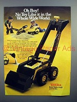 1980 Tonka Big Strong Arm Toy Truck Ad - Oh Boy!