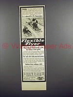 1913 Flexible Flyer Sled Ad - Ideal Christmas Gift!
