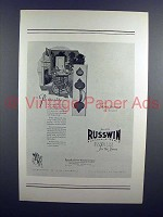 1927 Russwin Hardware Ad - Personality