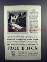 1927 American Face Brick Association Ad!