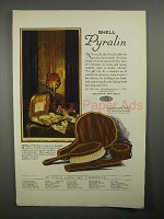 1922 Shell Pyralin Du Barry Toiletware Ad