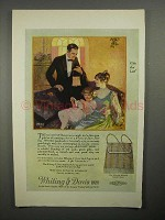 1922 Whiting & Davis Princess Mary Sunset Mesh Bag Ad