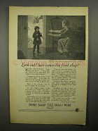 1922 Ivory Soap Ad - Here Comes The Frost Chap