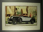 1929 Chrysler Imperial Roadster Car Ad - Actual Photo