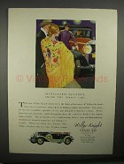 1929 Willys-Knight Great Six Car Ad - Finest Cars