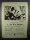 1930 AT&T Bell System Telephone Ad - The Mission