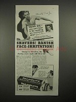 1935 Palmolive Shave Cream Ad - Ellsworth Vines