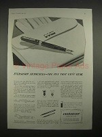 1935 Eversharp Fountain Pen Ad - Can't Leak!