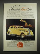 1935 Reo Flying Cloud Car Ad - America's Finest Six