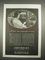 1935 Chevrolet Master De Luxe Car Ad - Quality Shines