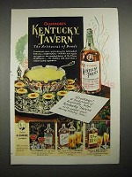 1940 Glenmore's Kentucky Tavern Bourbon Whiskey Ad
