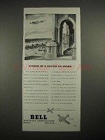 1940 Bell Airacobra, Airacuda Plane Ad, Nation on Guard