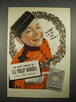 1940 Philip Morris Cigarette Ad - Best to You and Yours
