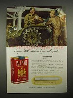1940 Pall Mall Cigarette Ad - Compare With