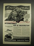 1940 International Harvester TD-18 TracTractor Ad