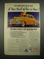 1940 Nash 600 Car Ad - That Rumor Was True